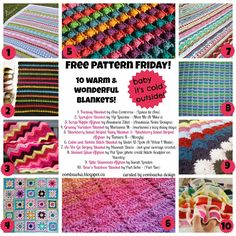 Blanket Pattern Round Up!