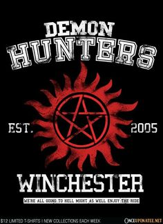 Demon Hunters is available on t-shirts, hoodies, tank tops, and more until 08/22…
