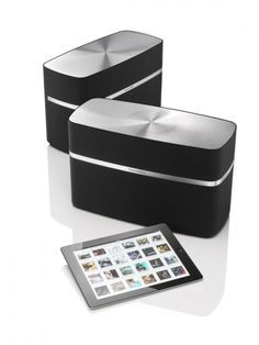 Bowers and Wilkins A7 Wireless Music System Display Model Front