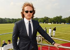 53. Sam Heughan  Famous for his role on Outlander, Sam Heughan has become an internet sensation. Maybe it's those promiscuous scenes on the Starz show but no matter what it may be, he's captured the heart of girls everywhere.  And it doesn't help that he's super cute on social media either. From his campaign to be on season 2 of Stranger Things to his adorable selfies, Sam is taking over as the sweetest hearthrob out there.