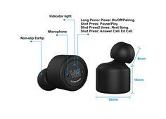 Features of the RunBud wireless headphones  https://volumemaker.com/store/the-runbud/