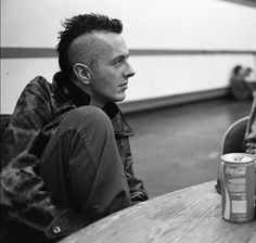 Joe Strummer of The Clash.