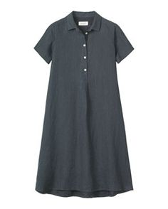 SWINGY LINEN SHIRT DRESS by TOAST  Great dress easy to weat