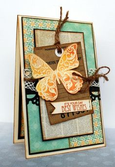 Butterflies - Clear Stamp Set - Prickley Pear Rubber Stamps