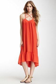 Bungalow Crisscross Straps Dress