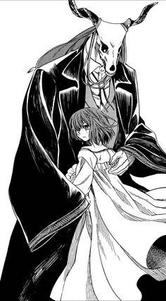 The Ancient Magus' Bride Kore Yamazaki Sailor Moon, Kore Yamazaki, Elias Ainsworth, Manga Anime, Anime Art, Chise Hatori, Best Romance Anime, The Ancient Magus Bride, Pretty Designs