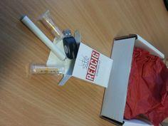 Come abbiamo ricevuto il pacco contenente le sigarette elettroniche REDCIG! http://www.sigaretta-elettronica.org/sigaretta-elettronica-redcig/