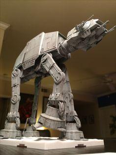 Bandai AT-AT imperial walker scale model Star Wars Crafts, Star Wars Art, Walker Star Wars, Imperial Walker, At At Walker, Imperial Army, Star Wars Models, Star Wars Images, Ewok