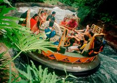 Kali River Rapids > Where to Cool Off at Disney World | About.com Family Vacations