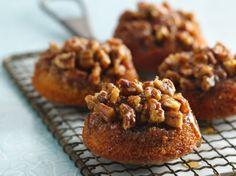 Gluten Free Sticky Pecan Caramel Fig Cakes recipe from Betty Crocker (I may substitute Pamela's baking mix)