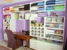 organizar telas e hilos