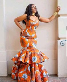 Magnificent And Stunning Collection of African Fashion Styles For African QueenLatest Ankara Styles and Aso Ebi Styles 2020 African Print Wedding Dress, African Party Dresses, African Print Dresses, African Dresses For Women, African Attire, African Shirts, Prom Dresses, African Outfits, African Clothes