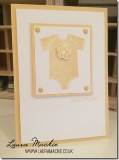 Stampin up - Something for Baby