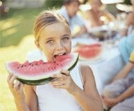 Watermelon- The perfect summertime fruit! Grab a slice, and enjoy! #watermelon