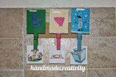 Handmadecreativity #tutorial per organizer per bambini: turni per aiutare nelle faccende di casa