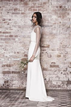 Great British Modern Wedding Dresses: Muscat London 2014 see more at http://www.wantthatwedding.co.uk/2014/11/07/great-british-modern-wedding-dresses-muscat-london-2014/
