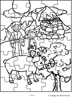 Abraham Offers Isaac Puzzle (Activity Sheet) Activity sheets are a great way to end a Sunday School lesson. They can serve as a great take home activity. Or sometimes you just need to fill in those...