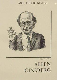 Allen Ginsberg by Robert Crumb