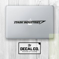 Stark Industries IRONMAN 3 Sticker Laptop iPad Novelty Geek Decal MARVEL Macbook