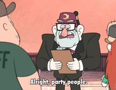 Alright Party People...and Dipper