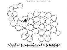 How to Make an Elephant Cupcake Cake