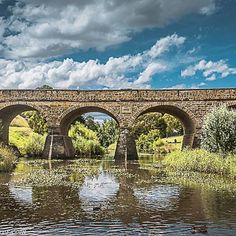 PHOTO: The historical Richmond Bridge in Richmond, Tasmania, Australia.