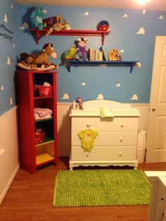 Pixar baby nursery, Im a first time dad with my little girl Harley-Quinn who was…