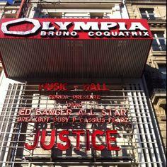 Justice à l' Olympia / Paris