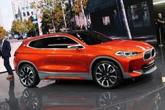 New BMW Concept X2 photos live from 2016 Paris Auto Show - http://www.bmwblog.com/2016/09/29/new-bmw-concept-x2-photos-live-2016-paris-auto-show/