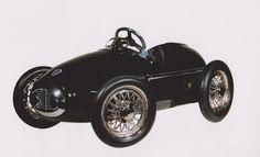 Bugatti pedal car toy