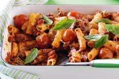 Spice up your weekend with this spicy beef pasta bake recipe @taste.com