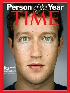 """Mark Zuckerberg (or """"The person of the year"""" in 2010) created Facebook in 2004. It shows us how importants social networks are !!"""