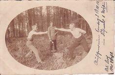 Original Foto Soldaten Nahkampf Übung / Köslin 1915 |