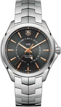 49eb94e4801 TAG Heuer - Link Calibre 7 GMT www.ChronoSales.com for all your luxury