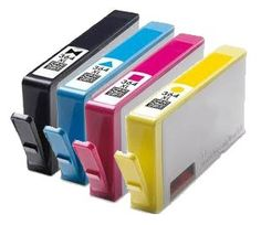 4 x Compatible HP 364XL Ink Cartridges for HP Photosmart 5520 e-All-in-One Printer (Black | Cyan | Magenta | Yellow) - Guaranteed to work with HP Photosmart 5510, 5511, 5512, 5514, 5515, 5520, 6510, 6512, 6515, 7510, 7515, B010a, B109a, B109d, B109f, B110a, B110c, B110e, HP Photosmart Plus B209a, B209c, B210a, B210c, HP Deskjet 3070A, 3520, Officejet 4610, 4620 - http://www.computerlaptoprepairsyork.co.uk/printers/4-x-compatible-hp-364xl-ink-cartridges-for-hp-photosmart-5520-