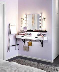 Ikea bedroom ideas small rooms design new small bedroom ideas of Ikea Bedroom, Small Room Bedroom, Trendy Bedroom, Bedroom Storage, Small Rooms, Bedroom Furniture, Small Spaces, Bedroom Decor, Ikea Furniture