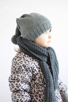 Prinsessajuttu: Lapsen neulottu kaulahuivi Knitted Hats, Winter Hats, Knitting, Children, Diy, Fashion, Young Children, Moda, Boys
