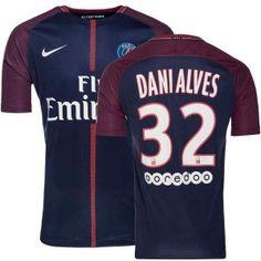 Paris Saint-Germain Maillot De Foot Domicile 2017 18 DANI ALVES 32 0170602da7ec3