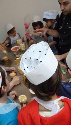 Les enfants sont souvent bien attentifs #coursdecuisine #enfant