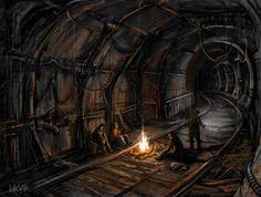 Metro 2033 by likvik