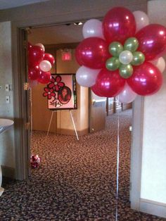 Just Imagebut They Can Be Done With Helium Balloon Decorations