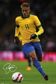 46da4959cc1 Neymar Singed Maxi Poster by Pyramid