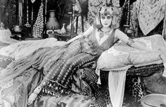 Portrait of Theda Bara in Cleopatra directed by J.Gordon Edwards, 1917