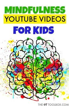 teach kids about mindfulness and paying attention to their bodies / the ot toolbox Mindfulness Youtube, Teaching Mindfulness, Mindfulness For Kids, Mindfulness Activities, Mindfulness Meditation, Mindfulness Techniques, Mindfulness Practice, Mindfulness Quotes, Meditation Music