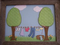 trees from Stretch your Imagination (clothes line from country life)