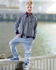 Uni-sex jakke i cool snit   - stof2000.dk