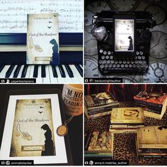 I need to share about some of the insanely awesome folks who have featured my book baby Out of the Shadows on their feed lately.  @paperbackpiano - Theres a review to go with! Check out her feed and the link in Alexs profile. Shes amazing!  @beckywrightauthor -That typewriter ! And such an awesome writer.  Im #currentlyreading Remember to Love Me by Becky.  @emmakblacker - Legit one of the sweetest Bookstagrammers out there .  @anna.b.madrise_author - Anna is even cooler in real life than…