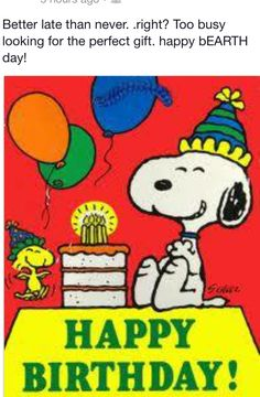 snoopy birthday cards free Snoopy Birthday Card Print it now