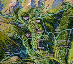Colorado Scenic Drive: Trail Ridge Road/Beaver Meadow Road ...
