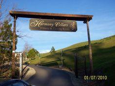 Harmony Wine Cellars in Harmony - cute little winery. Nice people.